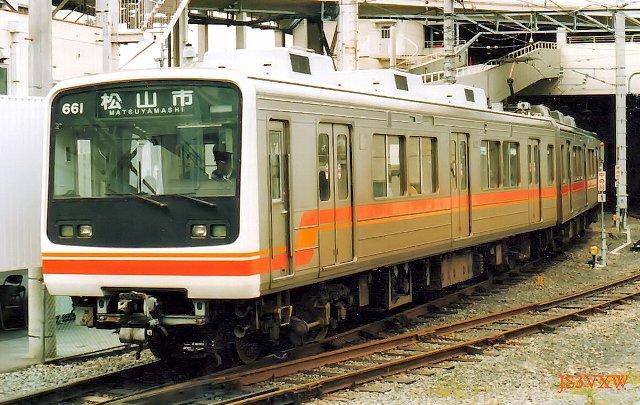 伊予鉄道 610系(珍車ギャラリー#354)