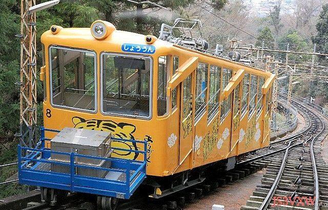 近畿日本鉄道 西信貴鋼索線 コニ7形(珍車ギャラリー#250)
