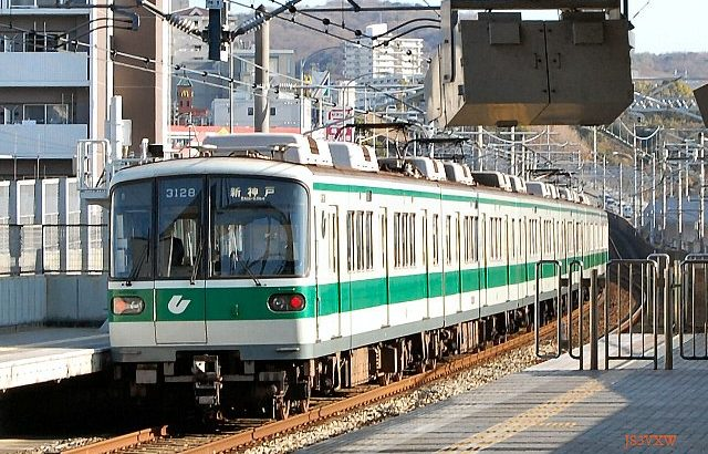 神戸市営地下鉄 3000系 西神・山手線用  (珍車ギャラリー#396)
