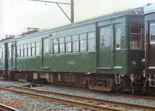 豊橋鉄道1600系1651