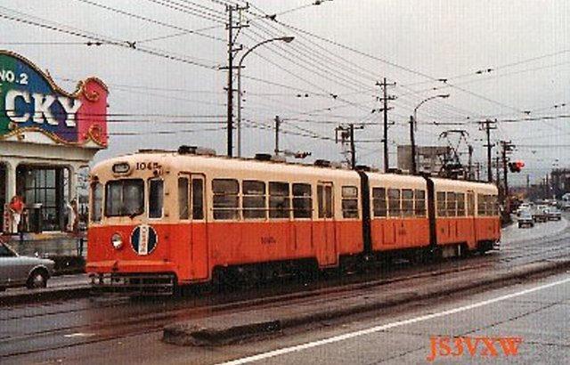 西日本鉄道 北九州市内線  1045 (珍車ギャラリー#099)